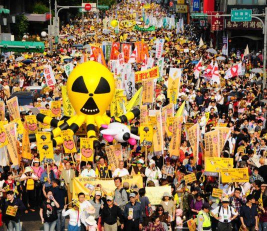 Manifestation anti-nucléaire (Photo CNA)