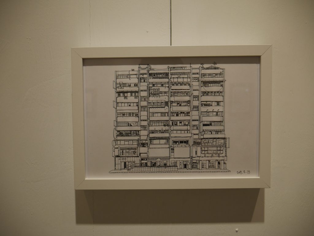Exposition « observation architecturale de Taipei » par LIN Szu-chun (林思駿)