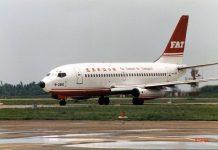 Avion de la compagnie taiwanaise Far Eastern (photo Wikipedia)