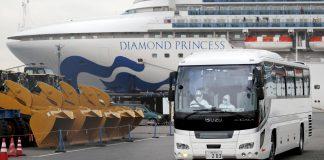 Evacuation du navire de croisière Diamond Princess (photo : Reuters/TPG)